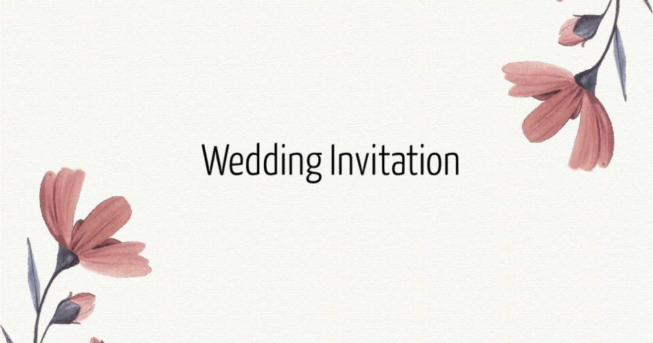 Template Undangan Pernikahan Powerpoint Zikku Creative
